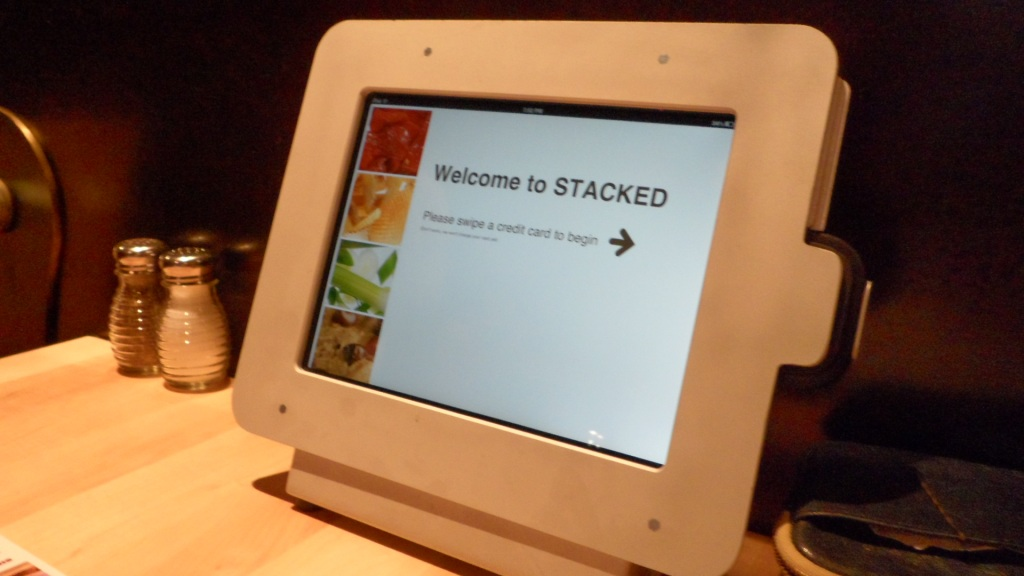 TodayI...Ate at the Restaurant of the Future!