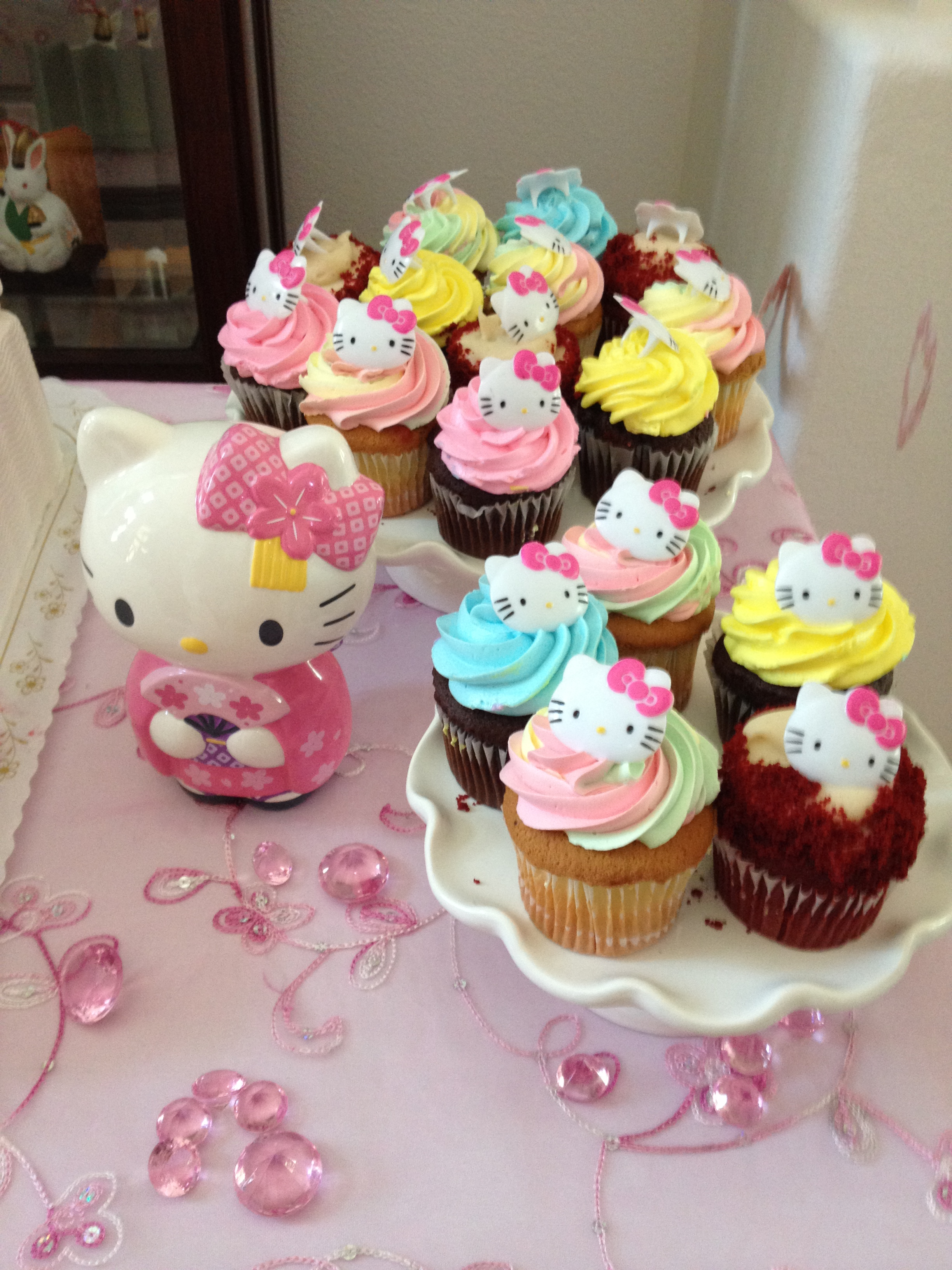 Hello Kitty Themed Bridal Shower