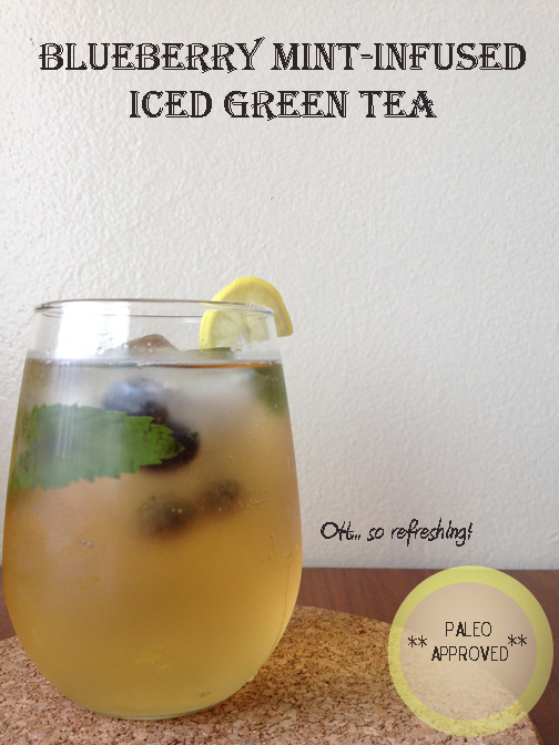 how to make mint=infused tea